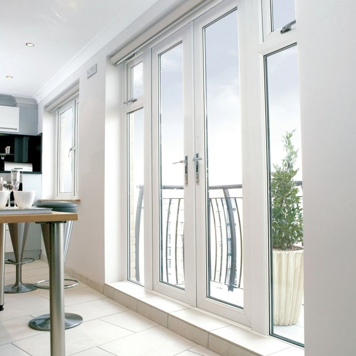 French doors can work in almost every space and can often unite indoor and outdoor spaces quite effectively.