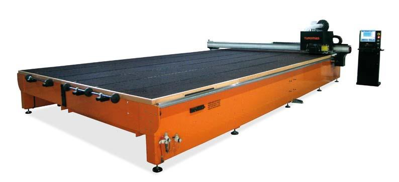 Flat glass cutting table RUBI 516C.
