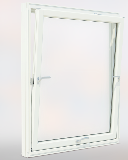 The 3 handled tilt and turn StormGuard window has 7 independent locking points to maintain a consistent compression on the weather gasket, therefore ensuring superior weather performance and security is achieved.