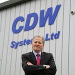 Mike Davis, Managing Director of CDW Systems: 'There are plenty of opportunities for aluminium in the UK, both commercially and residentially. Our customers are taking on more high-end projects such as installations in restaurants and blocks of flats.'