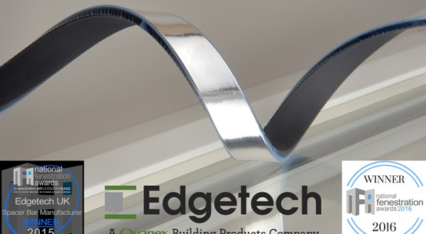 Edgetech has been named Spacer Bar Manufacturer of the Year in the National Fenestration Awards for the second year running.
