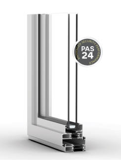 Exlabesa's newly launched steel replacement window suite has achieved PAS 24 security accreditation.