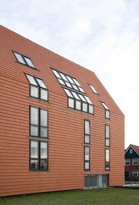 Complex of Vosseborg apartments in the Netherlands.