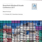 The Rosenheim Window Conference 2017 provides competent first-hand information on the most important trends in the window and facade industry.