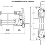 Ultra series Push - Out EP Casement