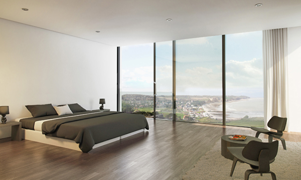 Hi-Finity sliding door system.