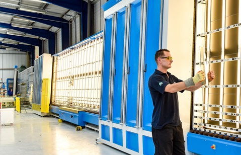 Morley Glass & Glazing has installed an automated 58-metre long sealed unit production line as part of its £1m move to new premises.