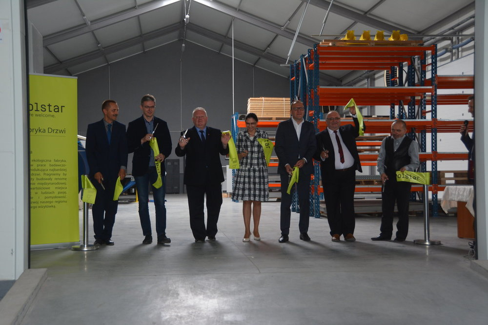 Official opening of the Polstar Doors factory