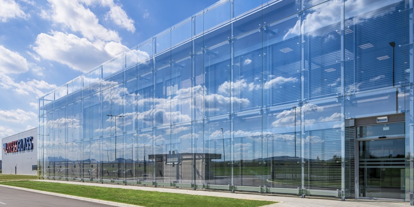 PRESS GLASS constructs another factory