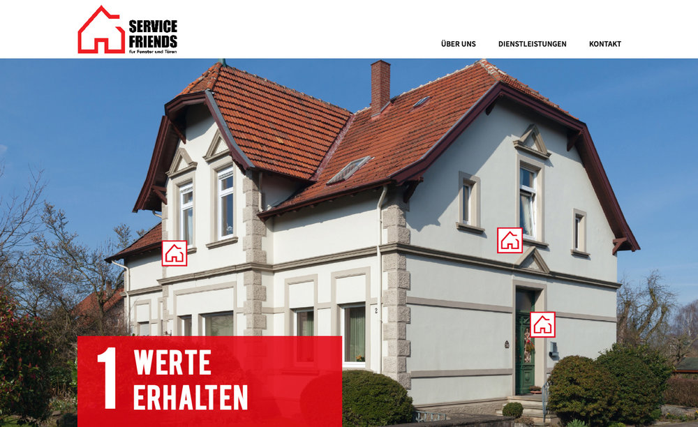 "The ""Service Friends for Windows and Doors"" word and design mark identifies the six specialist companies that are currently incorporated into Roto Frank Professional Service GmbH at local level as partner companies."